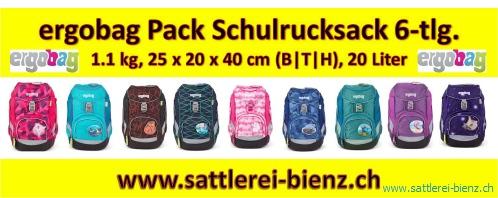 8d3f243416403 Ergobag Pack Set 6-tlg Schultaschen-Set